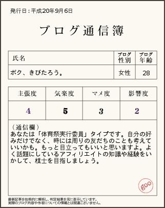 kibitaro通信簿」.png